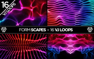 FormScapes_16_VJ_Loops_Pack_by_Volumetricks