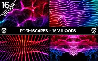 FormScapes_16_VJ_Loops_Pack_by_Volumetricks