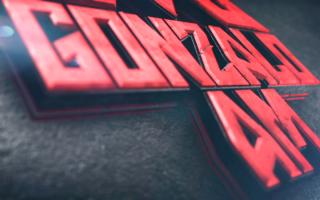 Gonzalo-AM-3d-Logo-Animation