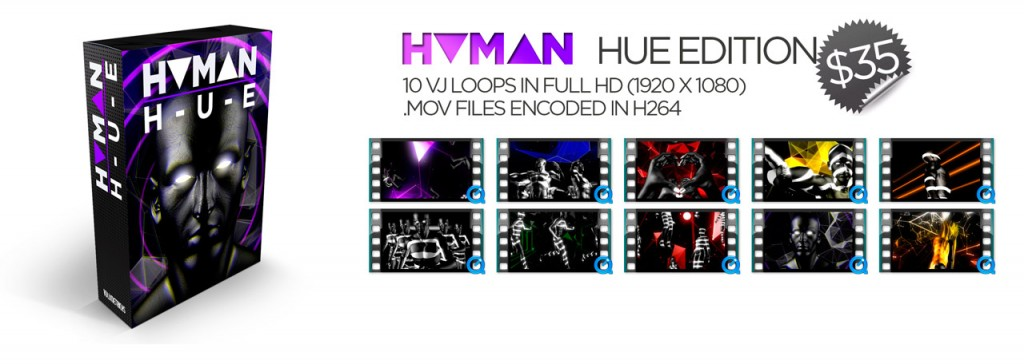 Human-Hue-Edition-VJ-Loops-Pack