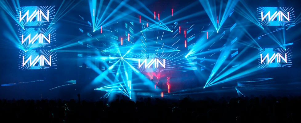 WAN Festival 2016 Live Visuals + Content Production | Volumetricks
