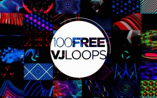Volumetricks 100 Free VJ Loops